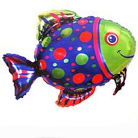 Гелієві фігури великі фольга рибка