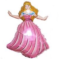 Гелієві фігури великі фольга принцеса 901683