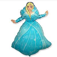 Гелиевые фигуры большие фольга принцесса 901743