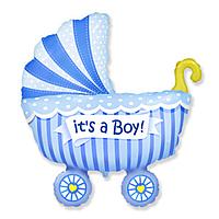 Гелиевые фигуры большие фольга коляска для мальчиков 901740