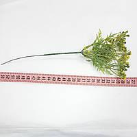 Трава пік мімози жовтий довжина 24см