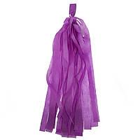 Гирлянда тассел 1шт 30см, фиолетовые