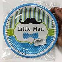 Тарілки паперові Little Man 10шт.
