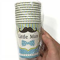 Стаканчики бумажные Little Man 10шт.