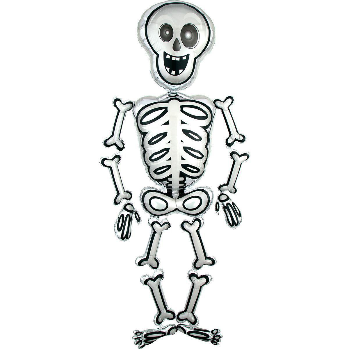 Фольга ходячая Anagram скелет