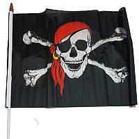 Піратський прапор на паличці Halloween