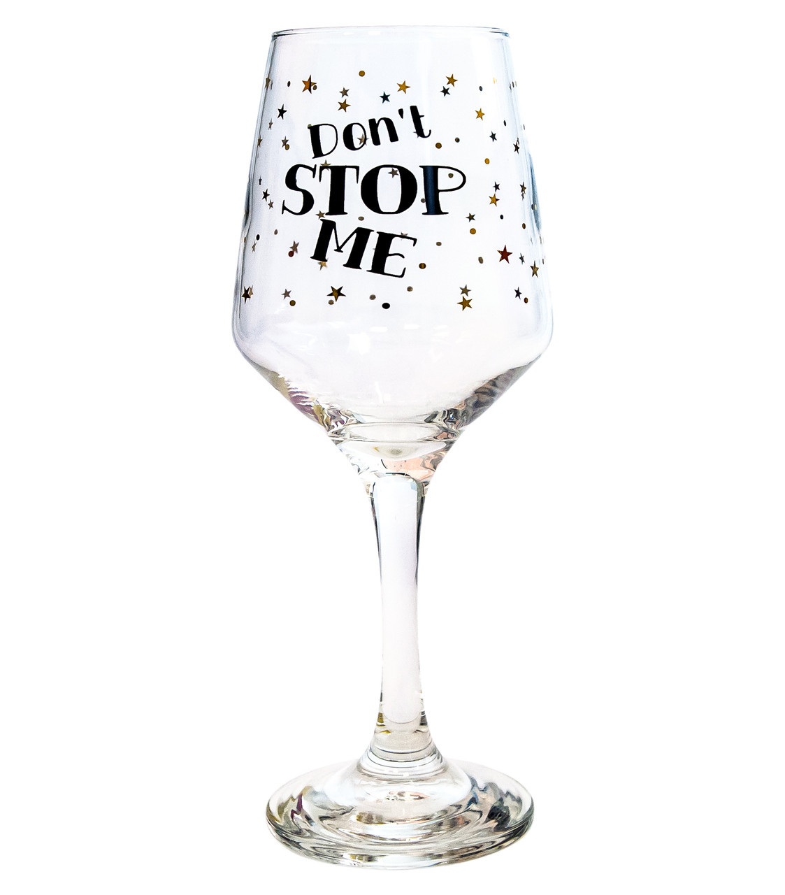"Бокал ""Dont stop me"" вино 0,38"
