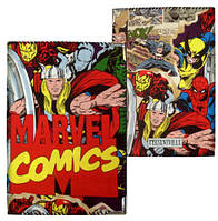 Обложка на паспорт marvel comics