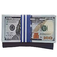 Деньги 100 долларов новые