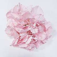 Головка гортензии премиум розовая 2621-12