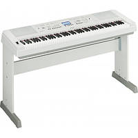 88 молоточковых клавиш YAMAHA DGX-650 WH автоаккопанемент