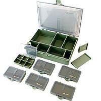 Коробка (бокс) Акрополис для карповой рыбалки КБ-2  270х190х59 мм