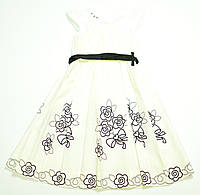 Платье для девочки Piekna Roza Трикотажное Белое