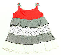 Платье для девочки Slodka Dziewczynka Трикотажное Узор