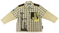 Рубашка для мальчика  Ulica Nr 40-1 Клетка