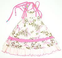 Платье для девочки Ekzotyczna Podroz Трикотажное Розовое