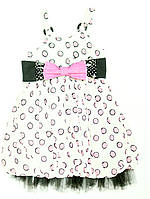 Платье для девочки Rozowy Akcent Белое