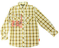 Рубашка для мальчика подростка Jaskinioiec 1 Клетка