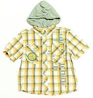 Рубашка для мальчика подростка Park Tw 2 К\Р Клетка