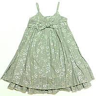 Платье для девочки Srebna Kokarda Серое