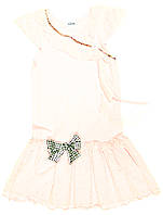 Платье для девочки Retro Marzenie Трикотажное Розовое