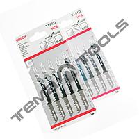 Пилки для электролобзика BOSCH T118А (упак. 5шт)