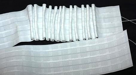 Тесьма 4см для подшивки гардин, штор, тюли - Textile plus в Хмельницком