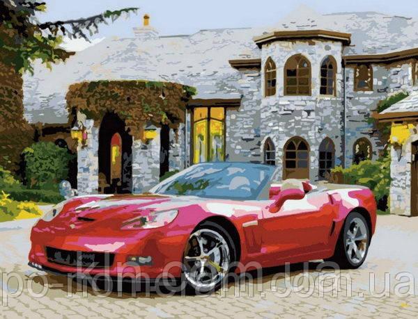 Картина по номерам Menglei MG1043 Машина Мечты  40 х 50 см