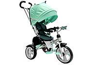 Crosser T-503 детский трехколесный бирюзовый велосипед колеса EVA , фото 1