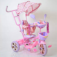 WS-828R-2 (NP) Girl детский трехколесный велосипед для девочки , фото 1