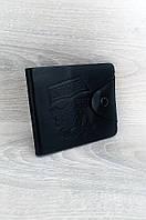 Кошелек мужской черный 11 х 9 см BOSE F201