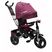 AZIMUT CROSSER T-400 TRINITY AIR дитячий велосипед дитячий бордовий