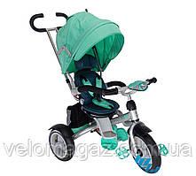 Crosser T-503 AIR дитячий триколісний велосипед кольору бірюзи