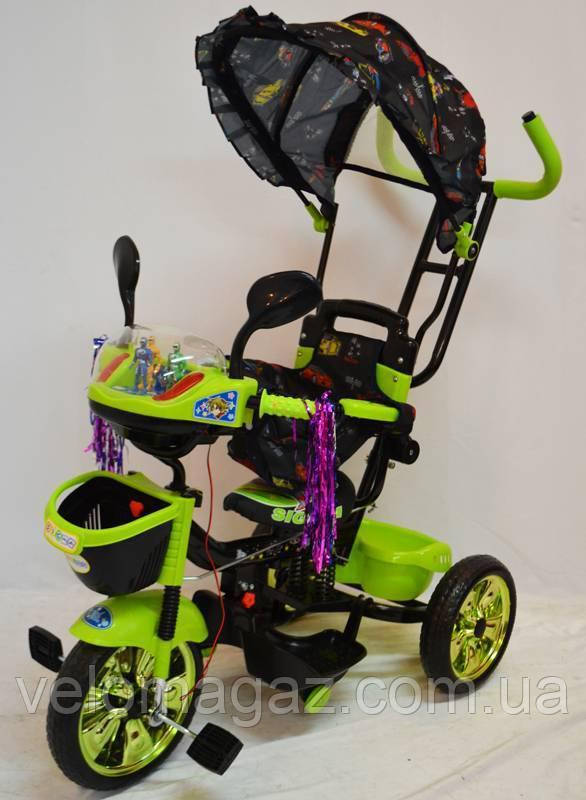 WS-828R-2 (NP) Boy детский трехколесный велосипед для мальчика