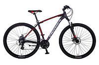 """Велосипед Crosser Inspiron*19 26"""" черно-красный горный алюминиевый , фото 1"""