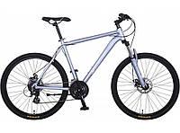 """Велосипед горный Crosser Legend-1*19 29"""" серебро алюминиевый, фото 1"""