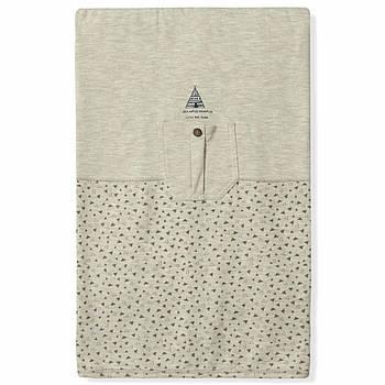 Одеяло их хлопка для новорожденного ребенка Caramell (5976)