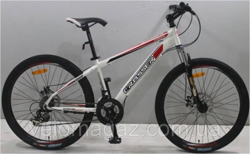 """Велосипед горный Crosser Force (138) NEW G-FR/D-1 26"""" белый"""