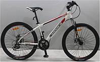"""Велосипед горный Crosser Force (138) NEW G-FR/D-1 26"""" белый, фото 1"""