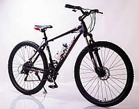 """Велосипед горный алюминиевый SIGMA HAMMER*19 29"""" (black-red), фото 1"""