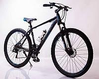 """Велосипед горный алюминиевый SIGMA HAMMER*19 29"""" (black-blue), фото 1"""