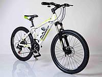 """Велосипед горный алюминиевый SIGMA HAMMER*14 24"""" 24-HAMMER (white-green), фото 1"""