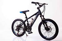 """Велосипед SIGMA HAMMER*12 20"""" горный алюминиевый (black-blue), фото 1"""