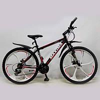"""Велосипед SIGMA MAXIMA-TOMMY 26"""" Black алюмінієвий спортивний підлітковий, фото 1"""