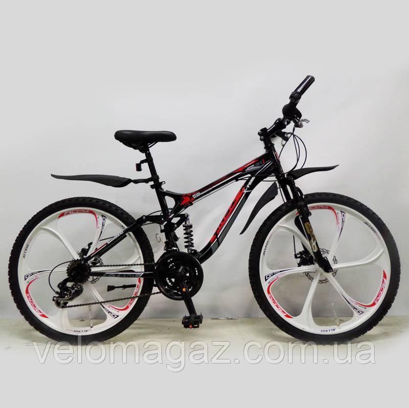 """Велосипед SIGMA """"X-TEND"""" 26'' Black алюминиевый спортивный подростковый"""