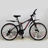 """Велосипед SIGMA """"X-TEND"""" 26'' Black алюминиевый спортивный подростковый, фото 1"""