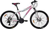 """Велосипед Crosser Sweet -1*16 26"""" белый горный алюминиевый, фото 1"""