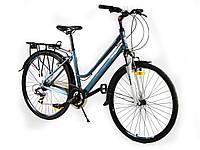 """Велосипед Crosser City Life Lady 28"""" серый горный женский алюминиевый, фото 1"""