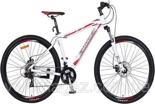 """Велосипед Crosser Count-1*22 29"""" белый горный алюминиевый"""