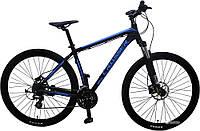"""Велосипед Crosser One-1 *19 29"""" черно-синий горный алюминиевый гидравлика, фото 1"""